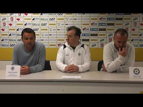 Tisková konference po utkání FC Hradec Králové - FK Varnsdorf 2:0
