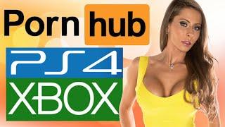 P0RNHUB vs VIDEO GAMES!! (Gaming News)