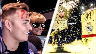 FREMDE FRAU Unterbricht FIFA 19 PACK BATTLE vs NOHANDGAMING 😱 Ultimate Team
