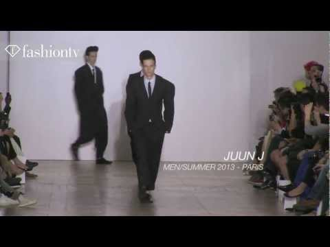 Juun J Men Spring 2013 ft Jakob Hybholt & Adrian Bosch | Paris Men