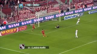 Gol de Riaño.Independiente 3 Quilmes 1.Fecha 7.Torneo Primera División 2014.Fútbol Para Todos