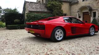 Ferrari Testarossa drive and review