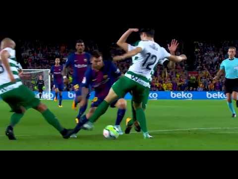 Lionel Messi 2017/18 ● Dribbling Skills, Assists & Goals | HD
