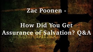 Zac Poonen - How Did You Get Assurance of Salvation? Q&A