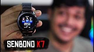 SENBONO K7 Waterproof Smart watch full review | The Best Cheap Smartwatch in 2019