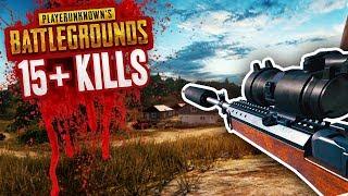15+ KILLS - MY BEST GAME EVER! - BATTLEGROUNDS NEW UPDATE (PUBG)