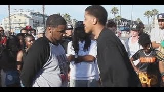 Venice Beach rap battle | SC Vs Don Trill | AHAT