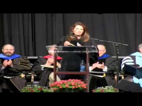 Michele Bachmann at the 2015 OCU Commencement