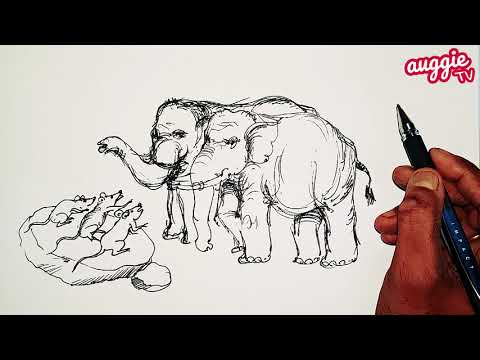 The Elephant and the Mice | Bedtime Stories | Panchatantra Stories | Moral Stories | in English
