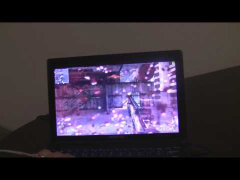 Samsung N510 Netbook - Modern Warfare 2 Test