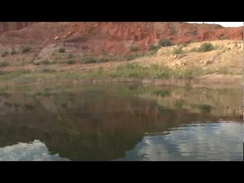 Hooked on utah lake powell bass fishing 2 youtube for Lake powell fishing license
