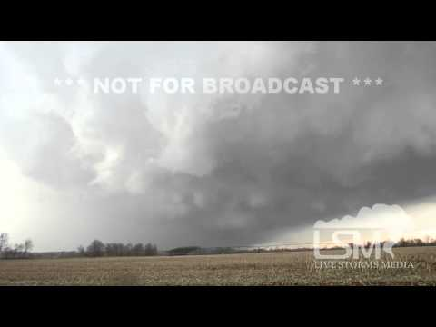 4/29/14 Lakeview, MI; Supercell & Hail *Charles Russell HD*