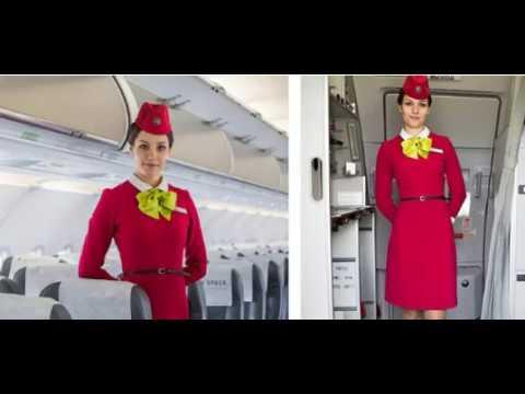 Вот почему стюардессы всегда ДЕРЖАТ РУКИ ЗА СПИНОЙ, встречая пассажиров!
