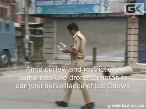 Authorities use drone cameras in Srinagar for surveillance