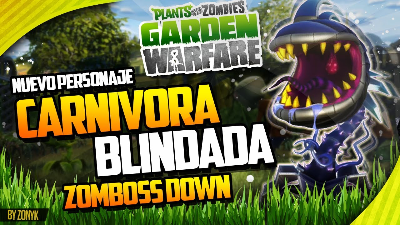 "BLINDADA"" (ZOMBOSS DOWN) - Plantas vs Zombies Garden Warfare - YouTube"