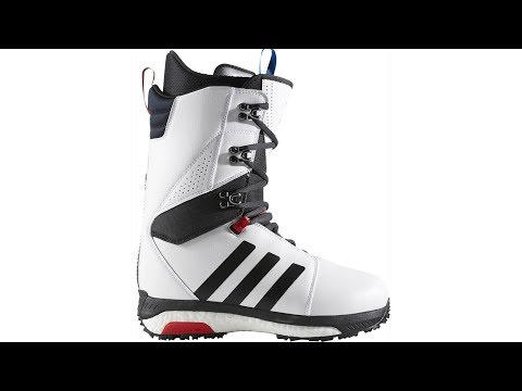 2017 / 2018 adidas tattica avanzata snowboard stivali video review