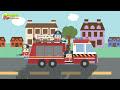 Мультики про пожарные машинки.Развивающие видео для детей.