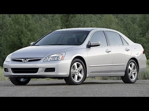 2006 Honda Accord Start Up and Review 3.0 L V6