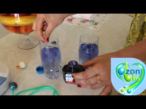 Озонировать воду в домашних условиях