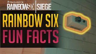 Rainbow Six Siege | FUN FACTS