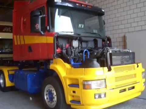 Schildknecht Scania Hauber T164 580 #1