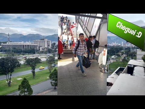 "Daily Vlog - Cheguei ""Bogota"""