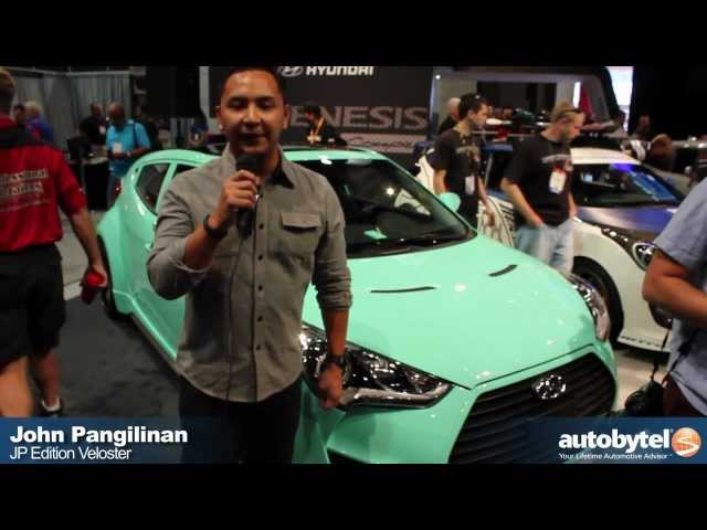 Hyundai SEMA Tuner Cars - Veloster Re-Mix, JP Edition Veloster, and Bisimoto Elantra GT