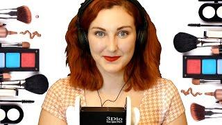 ASMR Makeup Tutorial – Kendall's Everyday Makeup Routine, Binaural Soft Spoken Relaxation