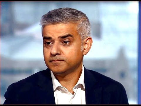 London mayor Sadiq Khan on Brexit vote