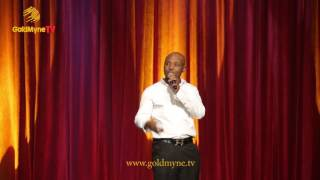 COMEDIAN, GANDOKI DESCRIBES LIFE IN LAGOS WITH HUMOUR AT LAGOS @ 50 | LAGOS LAUGHS