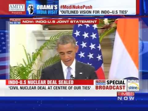 'Namaste! Mera Pyar Bhara Namaskar', Says President Barack Obama
