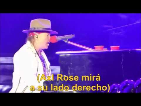 ¿Un fantasma le tocó el piano a Axl Rose durante November Rain?