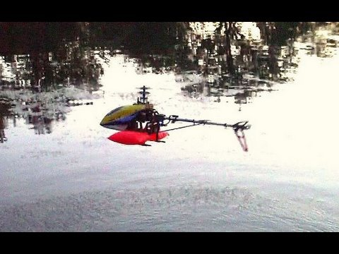 More R/C Heli Fishing with XHeli Blue Ray, by NightFlyyer