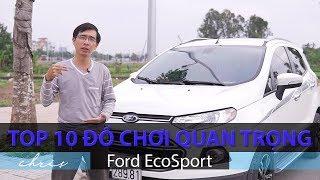 Top 10 đồ chơi quan trọng nhất cho xe Ford EcoSport