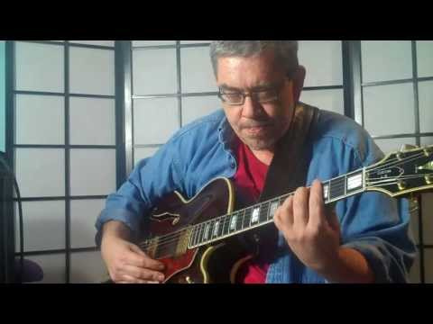 White Christmas Royce Campbell Solo Guitar