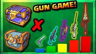 Highest Tier Powerful Weapons On New Game Mode Zombsroyale Io