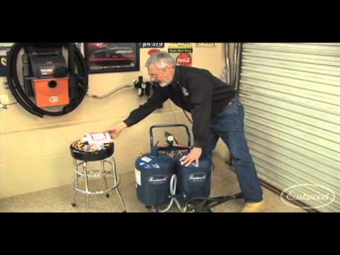 Abrasive Blasting - Dual Blaster & Air Filtration System in Sam Memmolo's Garage from Eastwood
