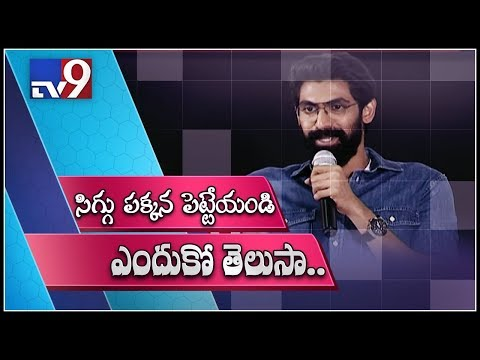 Rana campaigns for clean toilets - TV9 Exclusive thumbnail