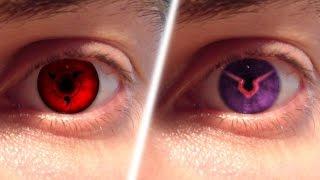 REAL LIFE Anime Eyes #1 (Sharingan, Ghoul, Geass,..)