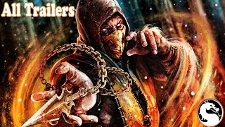 All Mortal Kombat Trailers 1992 to 2015