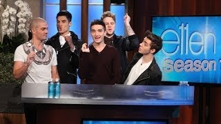The Wanted Spins for Ellen