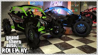 GTA 5 Roleplay - Buying 'NEW' $20,000 Tractor Tire Offroad Can-Am | RedlineRP #182