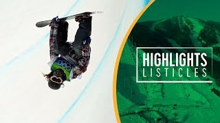 Top 5 Most Incredible Moments in Olympic Men's Snowboarding  Highlights Listicles