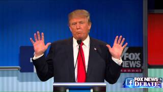 Donald Trump and Megyn Kelly go back and forth at the Fox News GOP debate