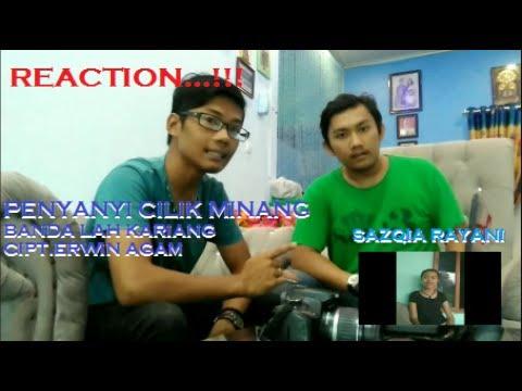 REACTION...!!! Penyanyi cilik asal Sumatera Barat. Sazqia Rayani-Banda lah kariang