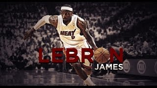Lebron James Playoff 2013 Aggresive Highlight