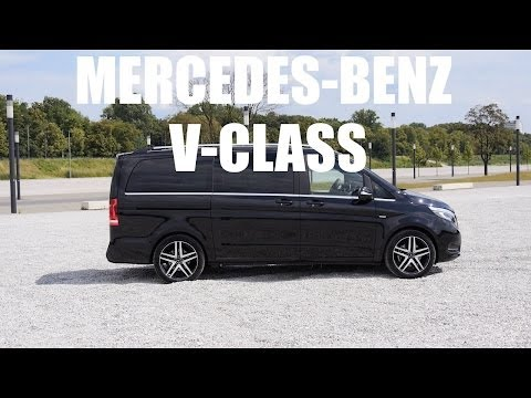 (ENG) Mercedes-Benz V-Class Edition 1 V250 Bluetec - Test Drive and Review