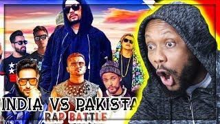 INDIA vs Pakistan | Rap Battle | Best Rapper | DESI HIP HOP | BOHEMIA | Honey Singh | REACTION!!!