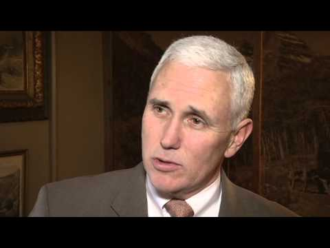 Gov. Pence Extended Interview: Sequestration