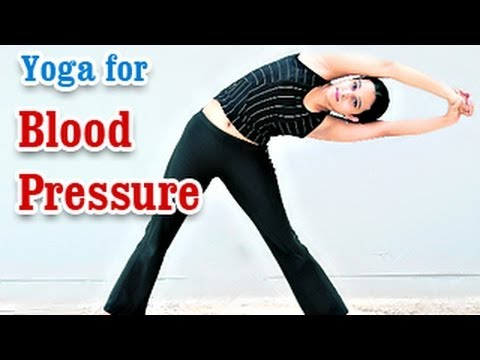 Yoga For Blood Pressure - Hypertension Control, Treatment And Nutritional Management In English video